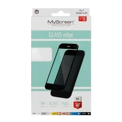 Стъклен протектор MyScreen Lite Glass Edge Full Glue за Samsung  G780 Galaxy S20 FE/Lite, Черен