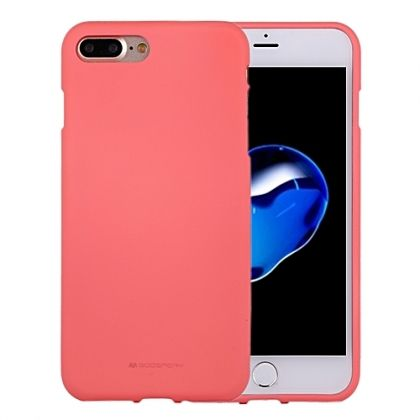 Луксозен гръб Mercury Goospery Soft Feeling за IPhone 7/8 Plus, Розов
