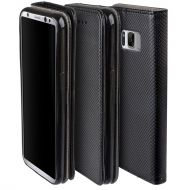 Калъф Flip Book Smart за Samsung G955 Galaxy S8 Plus, Черен
