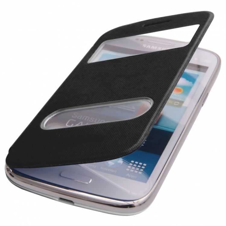 Flap S-View калъф за Samsung Galaxy S7580 Trend Plus