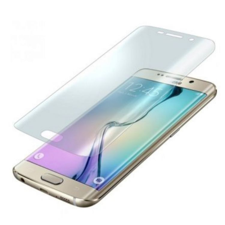 3D Full Cover Super Clear за Samsung G925 Galaxy S6 Edge, Прозрачен