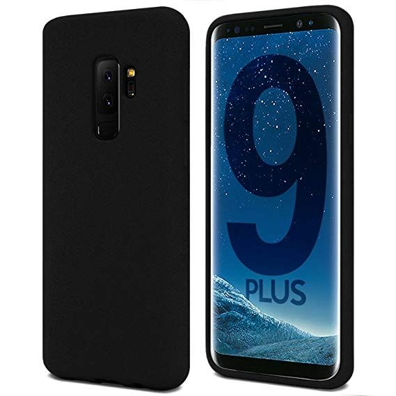 Луксозен гръб Mercury Goospery Soft Feeling за Samsung G965 Galaxy S9 Plus, Черен