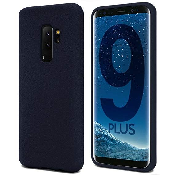 Луксозен гръб Mercury Goospery Soft Feeling за Samsung G965 Galaxy S9 Plus, Тъмно син