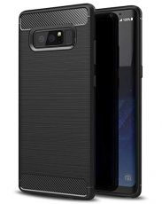 Anti Shock гръб Carbon за Samsung G955 Galaxy S8 Plus, Черен