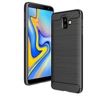 Anti Shock гръб Carbon за Samsung J610 Galaxy J6 Plus 2018, Черен