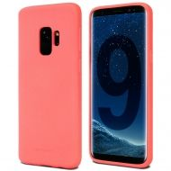 Луксозен гръб Mercury Goospery Soft Feeling за Samsung Galaxy S9, Розов