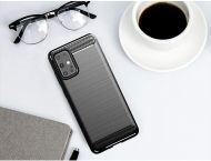 Anti Shock гръб Carbon за Samsung Galaxy S20 Plus/S11, Черен